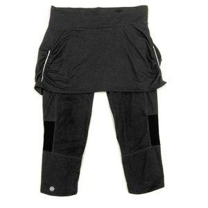 Athleta 2 in 1 Skirt Capri Leggings